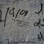 Abbey Road Wall Graffiti London