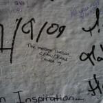 Abbey Road Wall Graffiti London