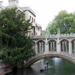 St. John's Bridge of Sigh's Cambridge