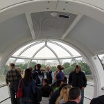 Inside our Pod at the Eye London