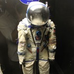 Actual Space Suit at Science Museum Kensington London