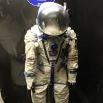 Actual Space Suit at Science Museum Kensington London
