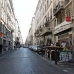 Streets in Marseille