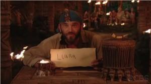 Russell Survivor Luara Tribal Council