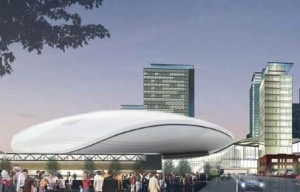 Edmonton Arena is Apple Inspired