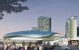 Edmonton Oilers Arena inspired by Apple Magic Mouse