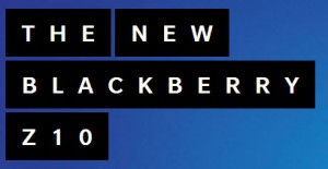 BlackBerry Z10 Text Ad