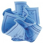 Crumpled Blueprints